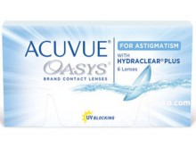 Acuvue Oasys for Astigmatism