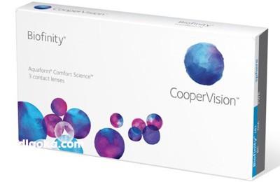 Biofinity CooperVision 3 szt.