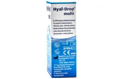 Krople do oczu Hyal-Drop multi 10 ml
